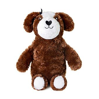 Kids  Faux Fur Covered 3D Cuddly Puppy Dog Design Hot Water Bottle