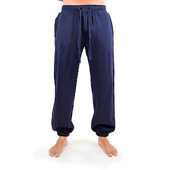 Tom Franks Mens suave footing gimnasio pantalón pantalón con elástico del pun ¢ o inferior
