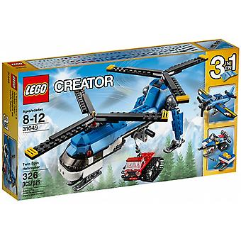 LEGO 31049 double-rotor helicopter