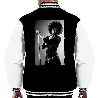 Souxsie Sioux Live Black And White Men's Varsity Jacket