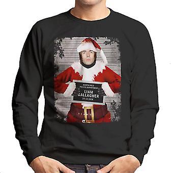 Sweatshirt Noël Mugshot Liam Gallagher masculine