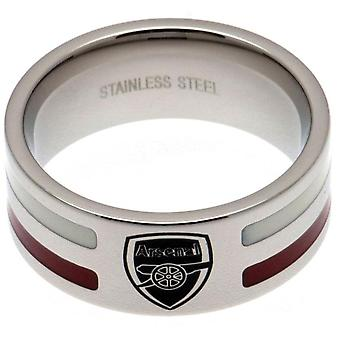 Arsenal FC Colour Stripe Ring