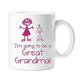 Voy a ser una gran taza de la abuela