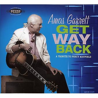 Amos Garrett - Get Way Back-a Tribute to Percy Mayfield [CD] USA import