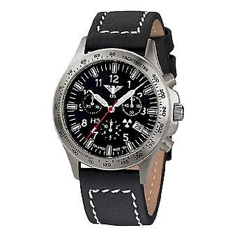 KHS watches mens watch platoon titanium chronograph KHS. PTC. LBB