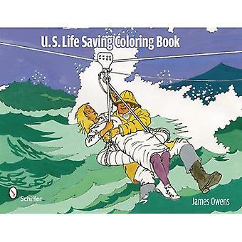 Livro de colorir para salvar vidas, EUA
