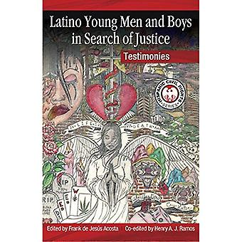 Latino Young Men and Boys in Search of Justice: Testimonies