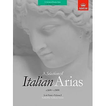 Rozmaite włoskie Arie 1600-1800, Tom I (niski głos): v. 1