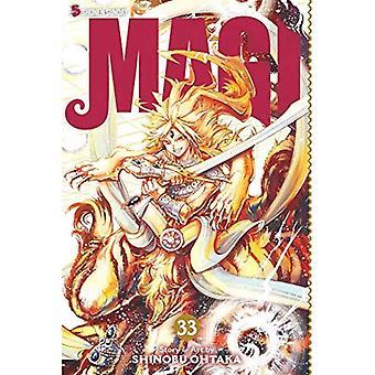 Magi, Vol. 33: Labyrint av Magic (Magi)