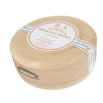 D R Harris drewniane golenie miska + mydło 100g-drzewo sandałowe buk