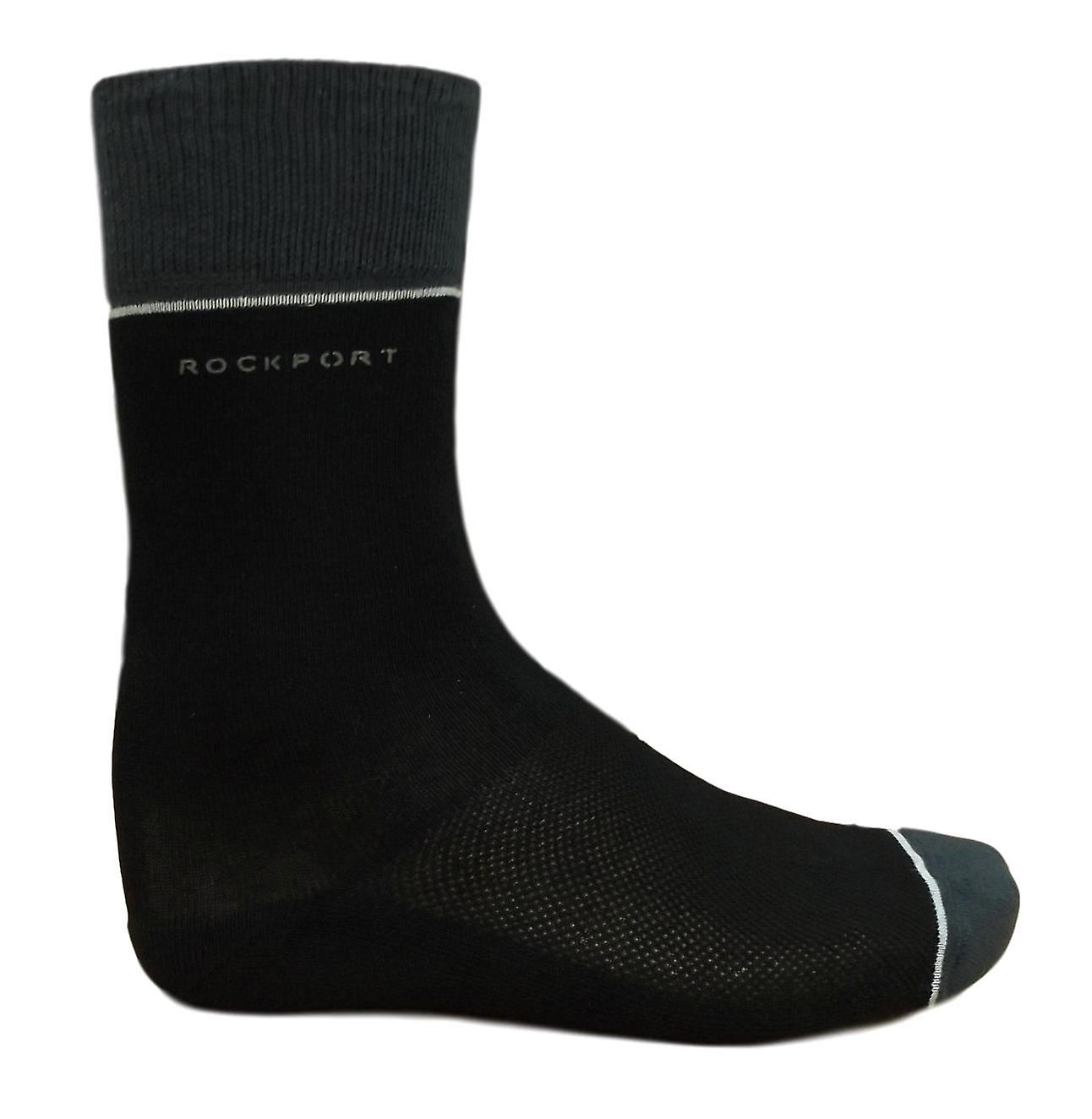 Rockport Men's Comfort Sole Pack of 2 Pairs of Socks