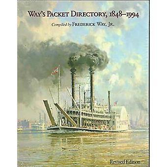 Sätts Packet Directory - 1848 - 1994 - passagerare ångbåtar av Missi