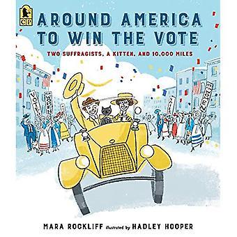 Alrededor de América para ganarse el voto: dos sufragistas, un gatito y 10.000 millas