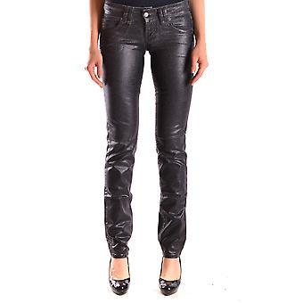 John Galliano Ezbc164022 Women's Black Denim Jeans