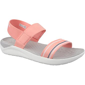 Crocs 205469 SERENA SANDAL Ladies Open Toe Summer Ankle Strap Pool Sandals Pool