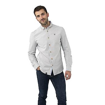 Lighthouse Tide Mens Shirt Grey Taupe
