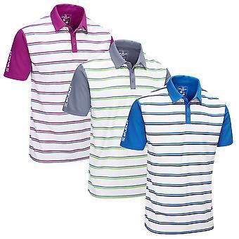 Stuburt Mens Evolve Apley  Moisture Wicking Lighweight Golf Polo Shirt