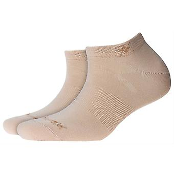 Burlington everyday 2-Pack Sneaker chaussettes-grès beige