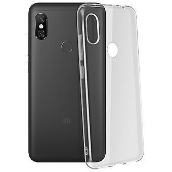 Akashi Xiaomi Redmi Note 6 Pro Soft Crystal Protection - Transparent