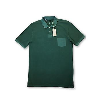 Olyp level 5 body fit polo in green