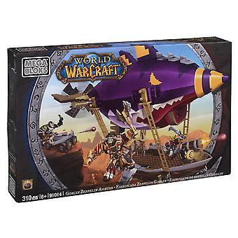 Mega Bloks World Of Warcraft Goblin Zeppelin Ambush 310 Pieces