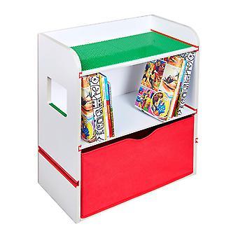 Kamer 2 bouwen bed boekenplank opslageenheid
