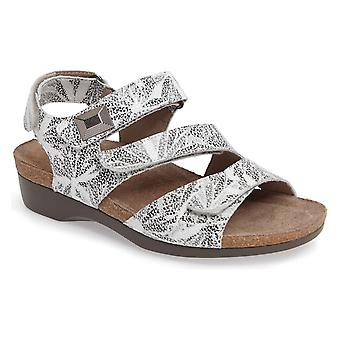 Munro Womens Antila Leather Open Toe Casual Slingback Sandals
