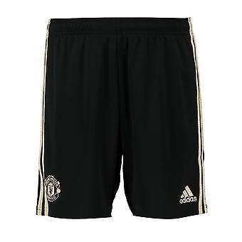 2019-2020 Man Utd Adidas Away Shorts (Noir)