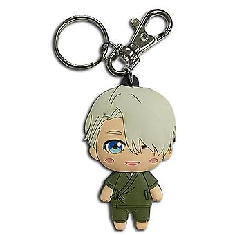 Key Chain - Yuri!!! On Ice - SD Victor Casual New Licensed ge48098