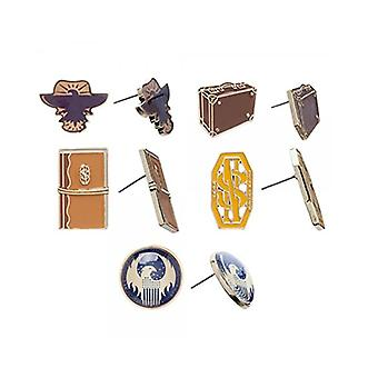 Earrings - Fantastic Beasts - Them 6 Pack Set Licensed New eg4gqyfan