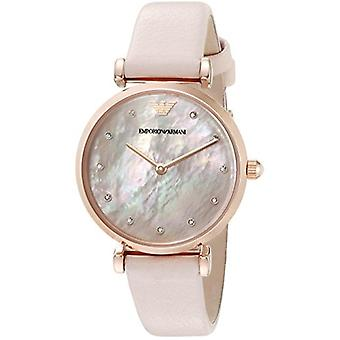 Emporio Armani Ar1958 Women's Stainless Steel Leather Watch