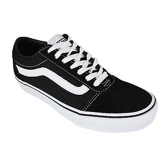 Vans Schuhe Skate Vans Ward Suede Canvas schwarz/weiß 0000066942_0