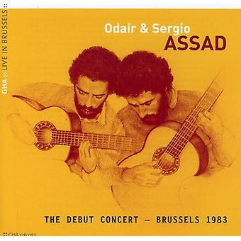 Odair Assad & Sergio - Odair & Sergio Assad: Der Debüt-Konzert, Brüssel 1983 [CD] USA import