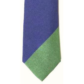 Gene Meyer Squash Tie - Blue/Green