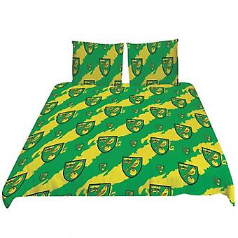 Norwich City Double Duvet Set