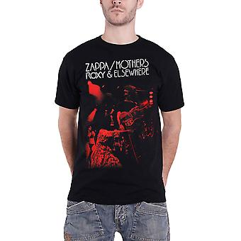 Frank Zappa T Shirt Roxy & Elsewhere new Official Mens Black
