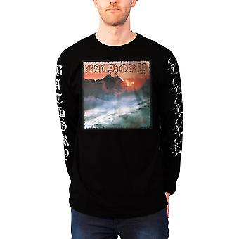 Bathory T Shirt Twilight Of The Gods logo new Official Mens Black Long Sleeve