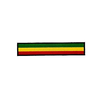 Patch Ecusson Brode Flag Rasta Reggae Brassard Black Backpack Biker Biker