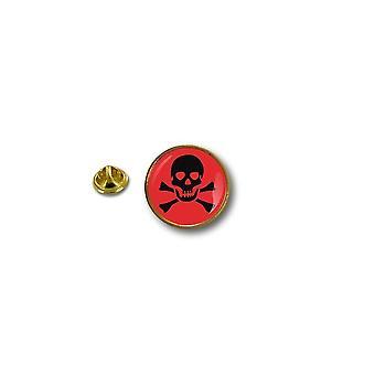 Pins Pin Badge Pin's Metal Biker Motard Biker Pirate Tete De Mort A