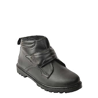 Chums Leather Wide Fit Touch Thermal Lined Fasten Boot