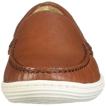 Kids Marc Joseph New York Boys broadway Leather Slip On Back Strap Moccasin S...