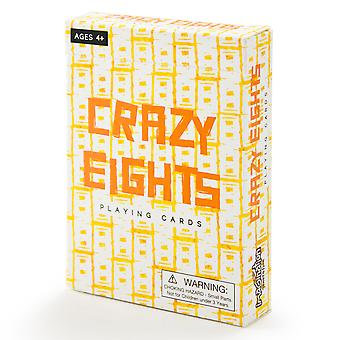 Crazy Eights Illustrated Card Game