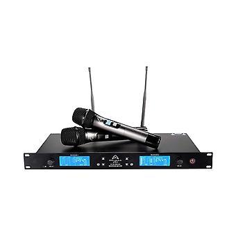 Système de microphone sans fil dual Wharfedale Pro Wf-300