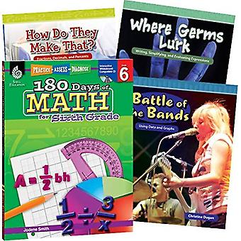 Learn-At-Home: Math Bundle Grade 6