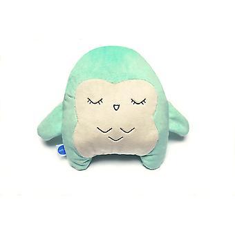 Meesoz Hushable - Bufnita verde (jucărie de zgomot alb)