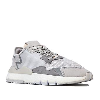 Womens adidas Originals Nite Jogger utbildare i Grey One/Crystal White/Grey