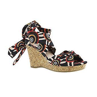 Impo OVALIA Ankle Wrap Wedge Sandal