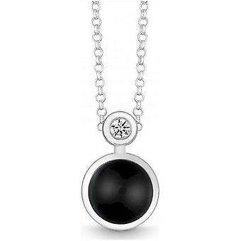 QUINN - Collana - Argento - Diamante - Onyx - Wess. (H) - 2719192