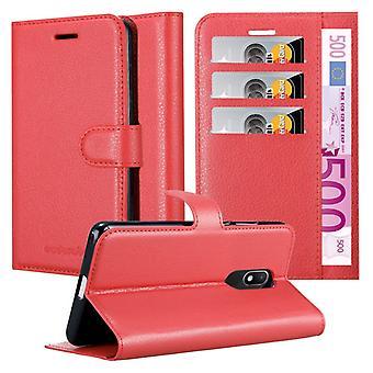 Cadorabo Housse pour WIKO WIM LITE cas cover - Coque du téléphone portable avec fermeture magnétique, fonction de stand et compartiment à cartes - Case Couverture Étui Sac poche Style de poche