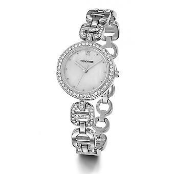 TM10112-03 - watch Bracelet steel rhinestone woman